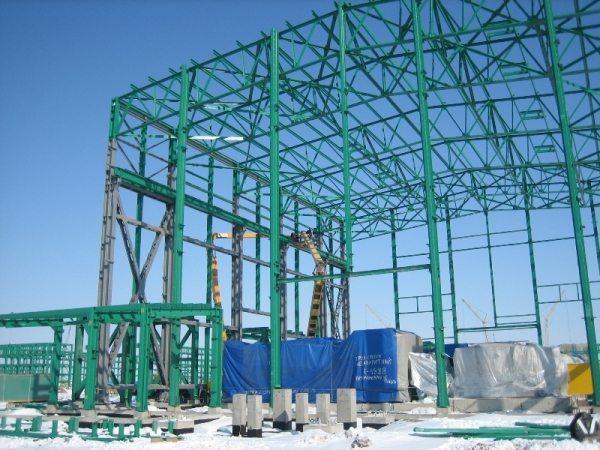 На таких больших объектах определить площадь конструкции будет весьма кстати.