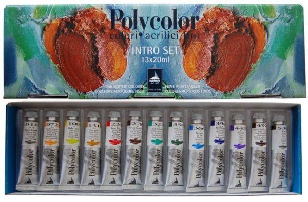 Набор акриловых красок от«Maimeri».