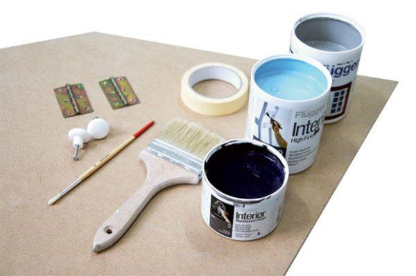 Набор необходимых материалов и инструментов