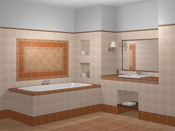 Наглядный пример облицованной ванны.