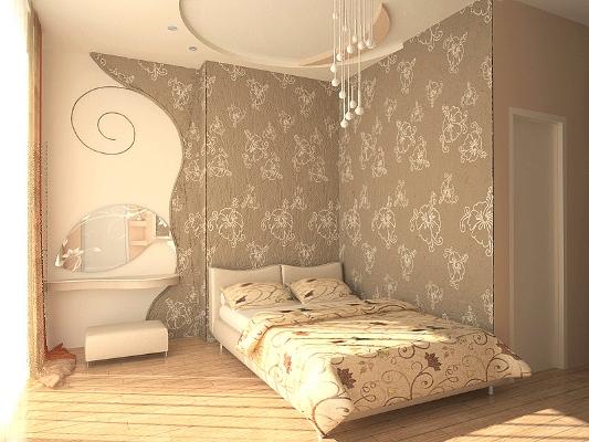 Настенные панели для спальни