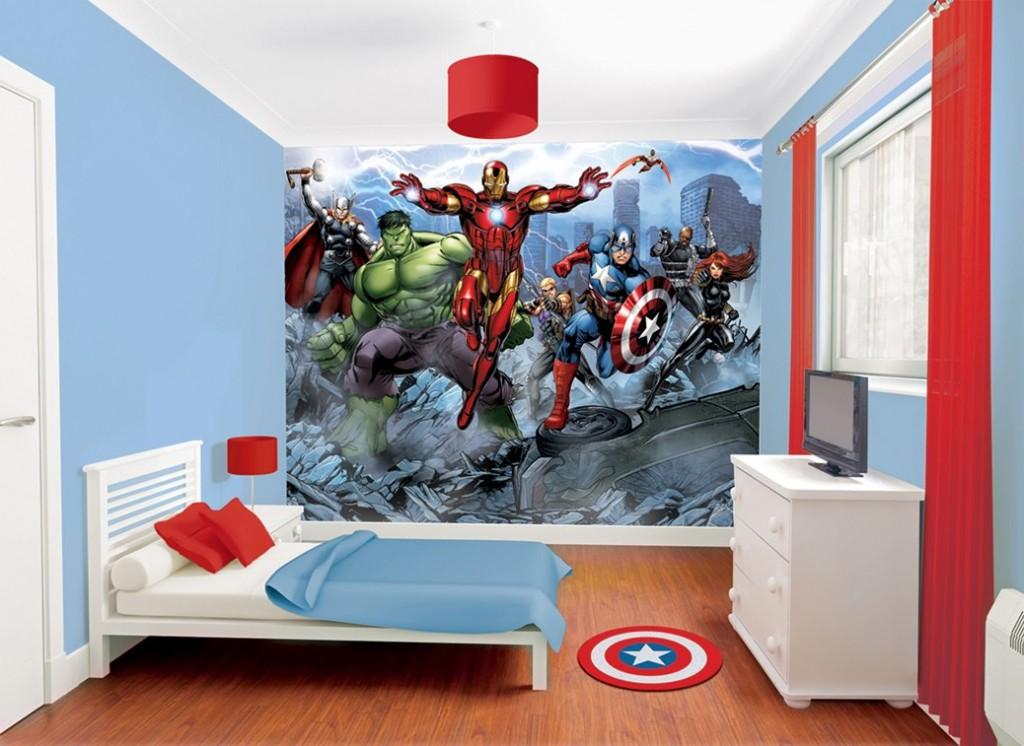 Объемные обои для детской комнаты