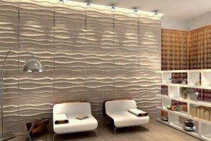 Объемные обои из натуральных материалов приобретают все большую популярность и активно используются дизайнерами в своих работах
