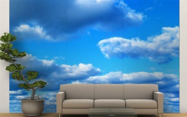 Облака на стенах