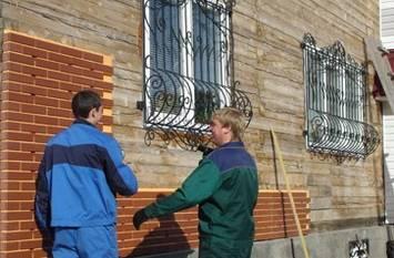 Облицовка фасадными панелями «под кирпич»