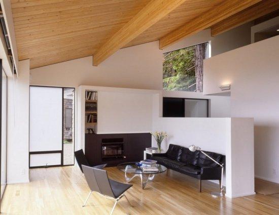 Облицовка помещения в современном стиле.