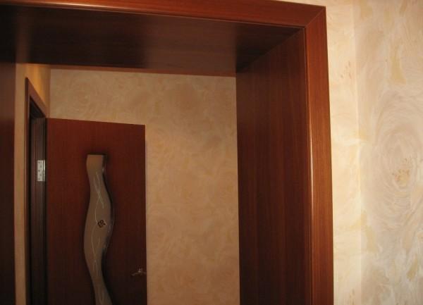 Образец оформления дверного проема.