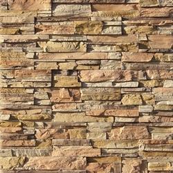 Образец отделочных панелей под камень.