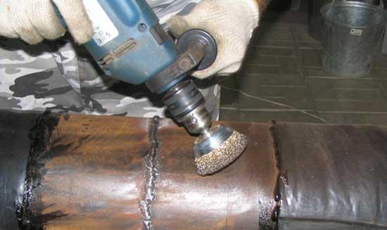 Очистка металлической поверхности от ржавчины