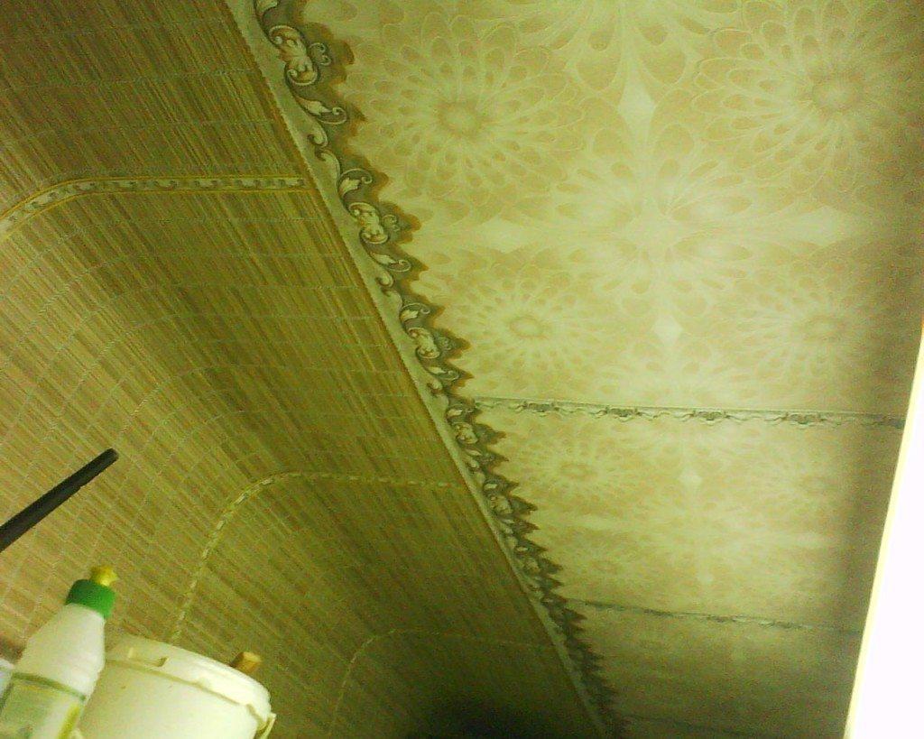 для оригинальная поклейка обоев на потолке фото италия самая