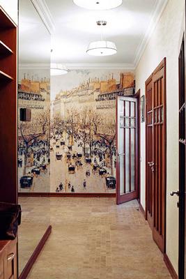 Оформление небольшого коридора