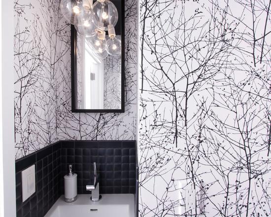 Оформление ванной комнаты такими материалами создаст потрясающий эффект