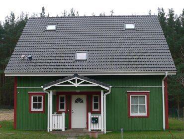 Окрашенный дом.