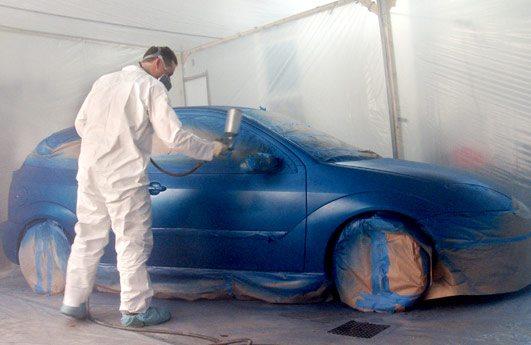 Окрашивание автомобиля
