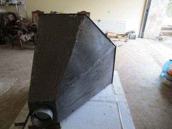 Окрашивание металлических элементов системы вентиляции
