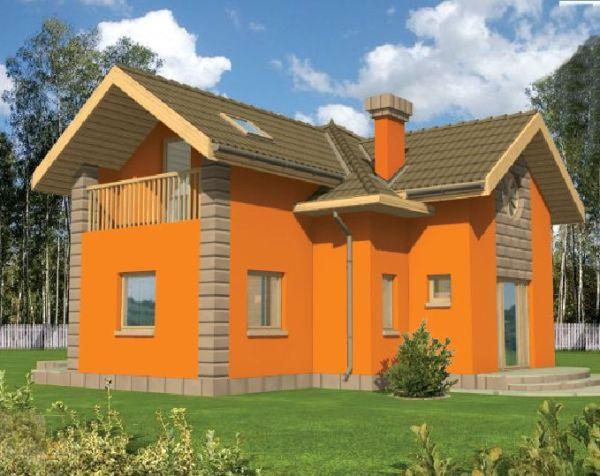 Окраска фасада придаст дому эстетичный вид и защитит стены от нежелательных воздействий.