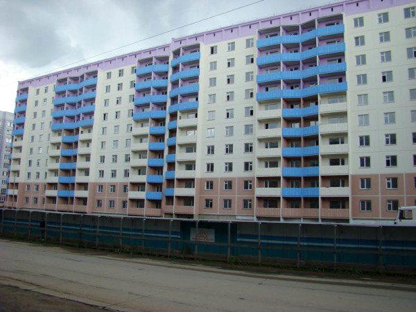 Окраска фасадов с использованием энергосберегающей технологии.