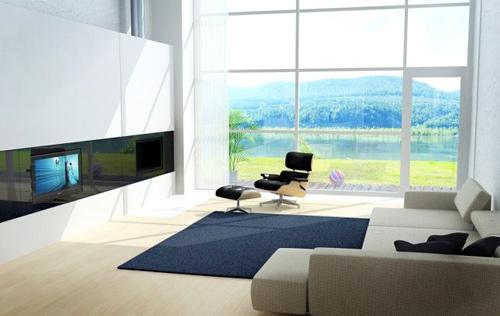 Органичный дизайн в гостиной: минимум предметов – максимум пространства