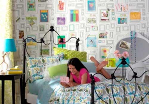 Оригинальные обои для детской комнаты для подростка