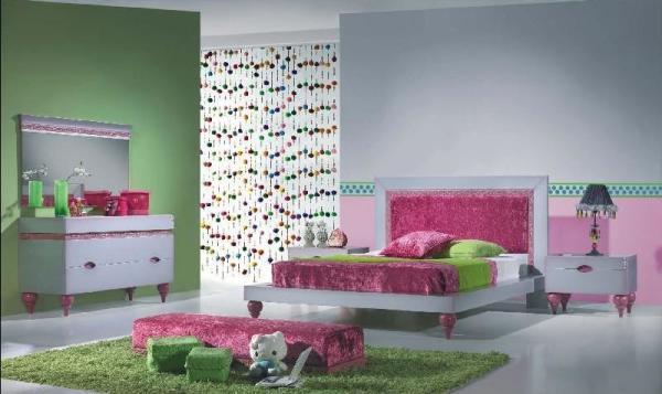 Оригинальный подход к созданию определенного интерьера спальне