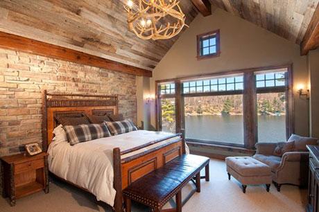 Оригинальный потолок в доме