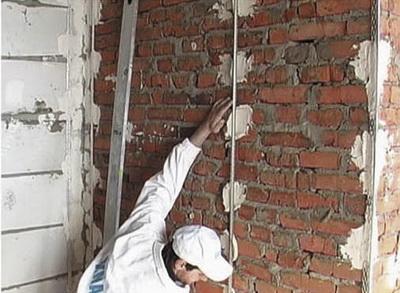 Основа для выравнивания стены