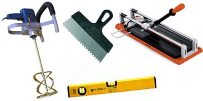 Основные инструменты кафельщика