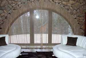 Отделка арки из гипсокартона своими руками возможна и акриловой плиткой