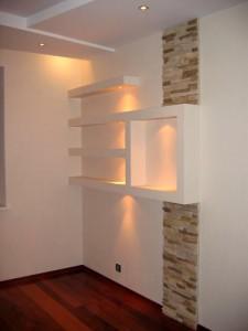 Отделка гипсокартоном деревянного дома, кирпичного, каменного с применением других средств оформления даёт замечательные результаты