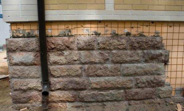 Отделка из цемента и песка поверх слоя теплоизоляции