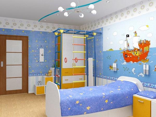 Отделка комнаты для мальчика