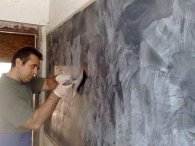 Отделка «Палмье» имитирует поверхность полированного мрамора