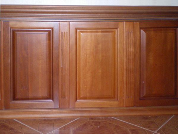 Отделка стен деревянными панелями в стиле первой половины 20 века