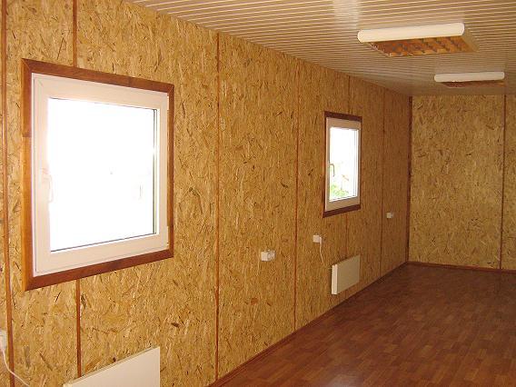 Отделка стен плитами ДСП тоже может выглядеть достаточно эффектно
