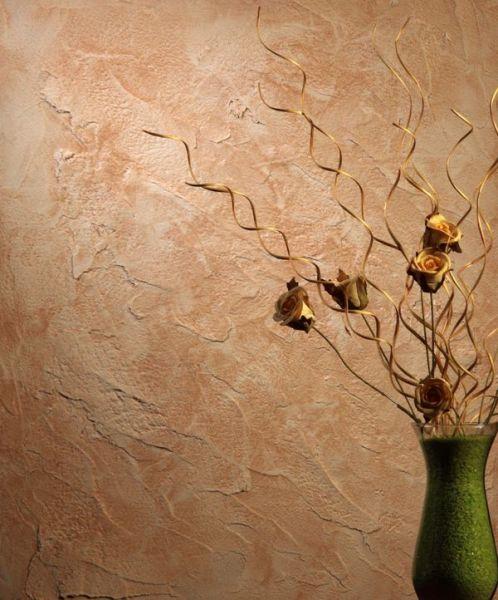 Отделка стен штукатуркой позволит создать изысканный дизайн.