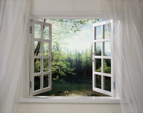 Открывайте окна настежь во время покраски