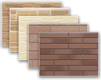 Панели для отделки фасада