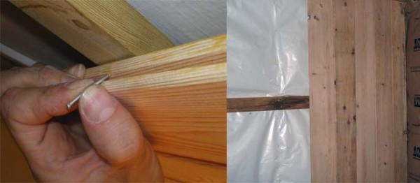 Парилку лучше всего обшить деревянной вагонкой.