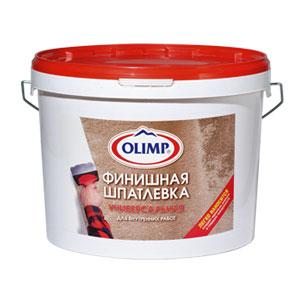 Пастообразная финишная шпатлёвка OLIMP