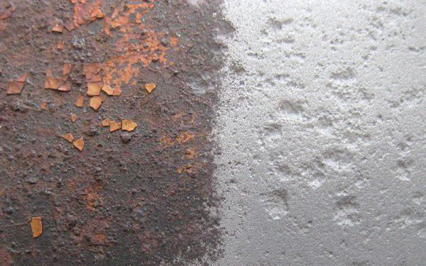 Пескоструйная обработка обеспечивает максимально качественную зачистку металла.
