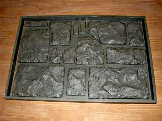Пластиковые формы для отделочного камня.