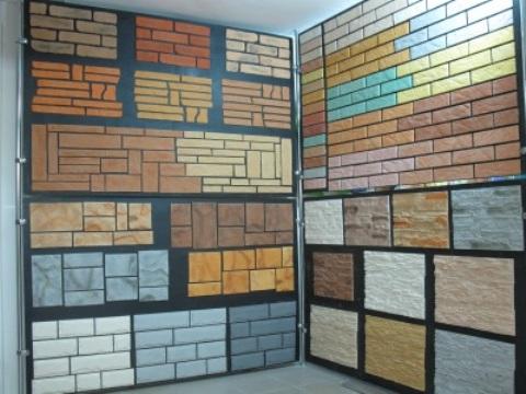 Пластиковые панели для отделки фундамента в ассортименте