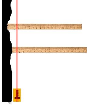 По среднему значению толщины слоя штукатурки можно рассчитать расход материала.