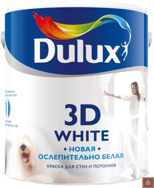 Под понятием 3Д белая, обычно подразумевают ослепительную белизну, создающую видимость объема