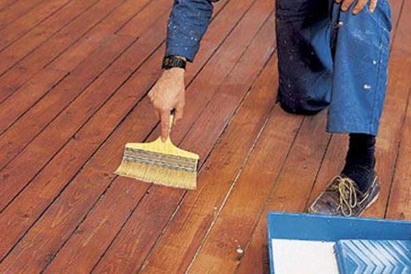 Подготовка деревянной поверхности к предстоящим работам