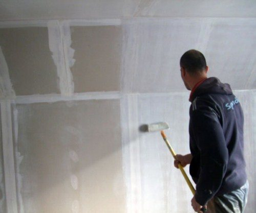 Подготовка ГКЛ перед шпаклёвкой – гарантия успешного ремонта
