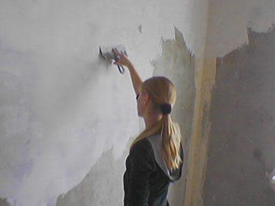 Подготовка стен.