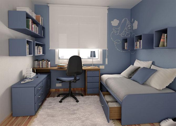 Подобное сочетание сделает пространство помещения уютным и светлым.