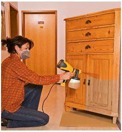 Как покрасить мебель своими руками фото 196
