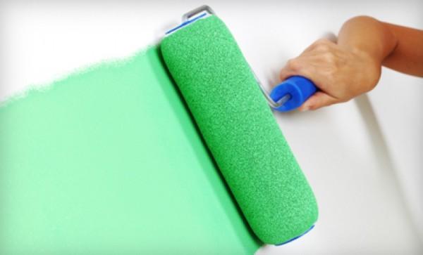 Покраска стен – простое, но симпатичное решение!